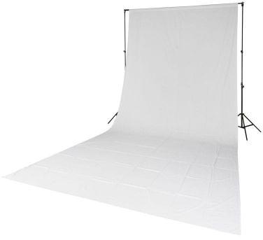 Quadralite tło tekstylne białe 2,85x6m