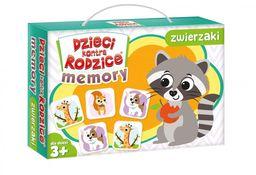 Dzieci kontra rodzice Memory zwierzaki ZAKŁADKA DO KSIĄŻEK GRATIS DO KAŻDEGO ZAMÓWIENIA