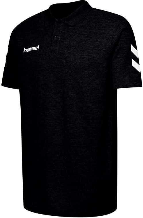 hummel Dziecięca koszulka polo Hmlgo Kids Cotton czarny czarny 164