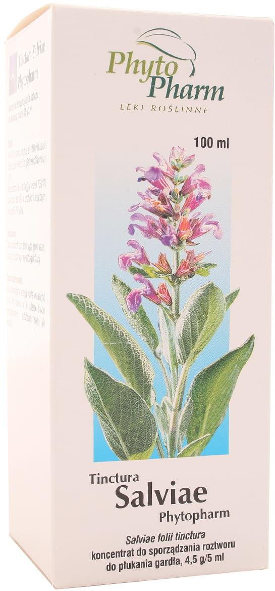 Tinctura Salviae Szałwia - Phytopharm - 100ml