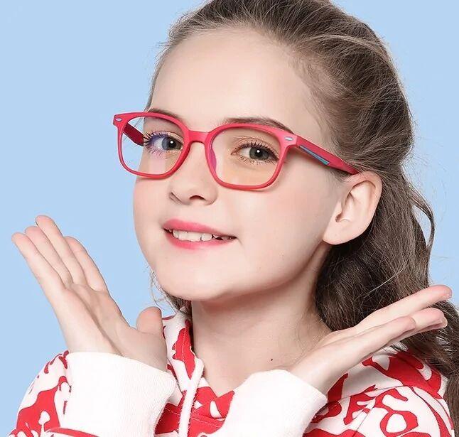 Ochronne okulary do komputera dziecięce BLUE LIGHT z filtrem światła niebieskiego 2550D