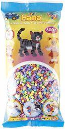 Hama 205-50  koraliki do prasowania, ok. 6000 sztuk, pastelowa mieszanka