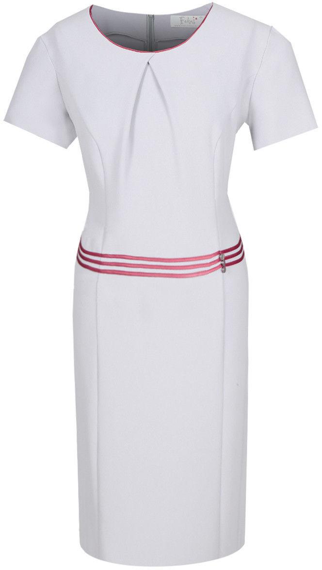 Sukienka FSU254 SZARY JASNY