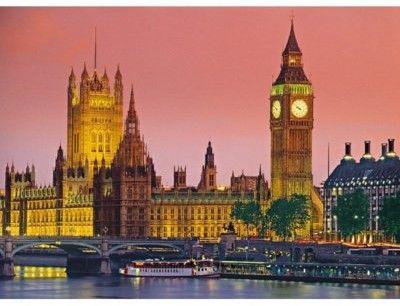 Puzzle Clementoni 500 - HQ - Londyn, London