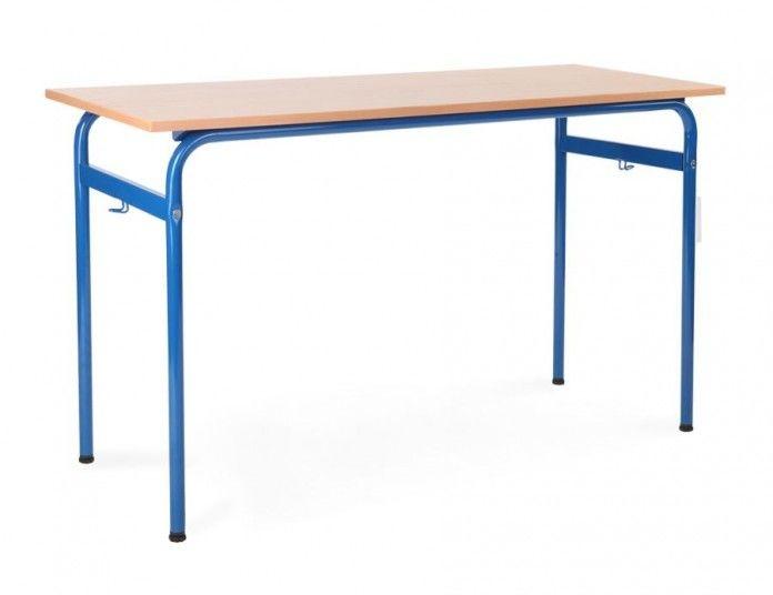 Ławka, stół szkolny 2 osobowy Bartek 1300x500