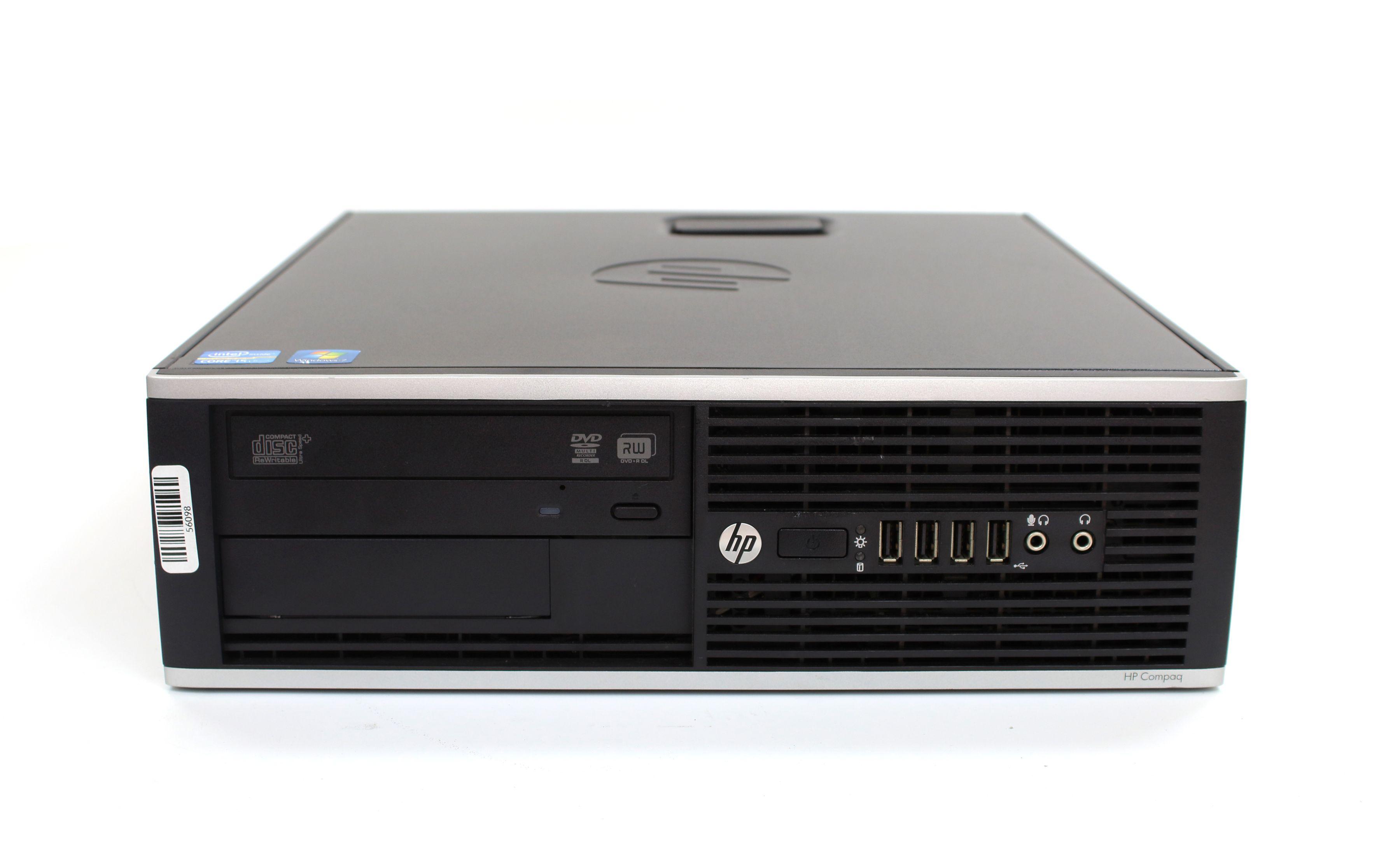 Komputer HP Compaq 8200 Elite Desktop i5-2400 4x3.40GHz 4GB 250GB DVD-RW Windows 7 Pro