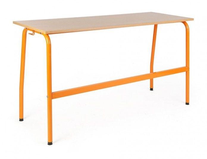 Ławka, stół szkolny 2 osobowy Olek 1300x500