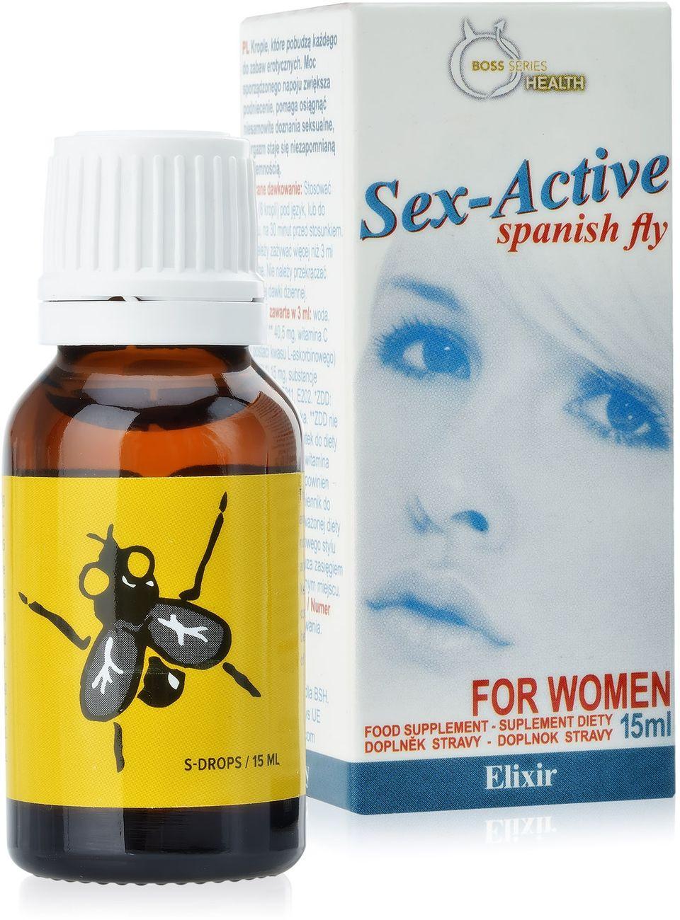 SUPLEMENT DIETY SEX-ACTIVE  SILNA HISZPAŃSKA MUCHA DLA KOBIET  78753378