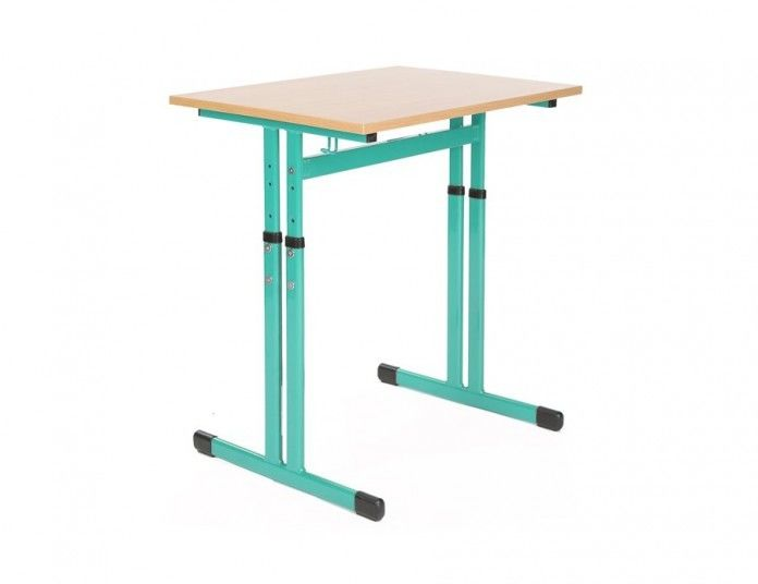 Ławka, stół szkolny 1 osobowy regulowany Antek bis 2- 4, 5- 7 700x500