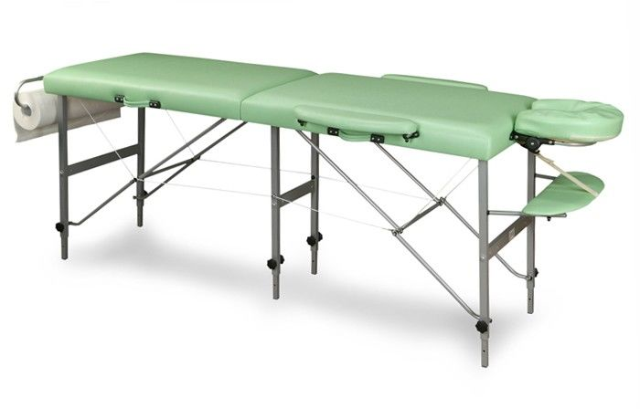 Stół składany do masażu TRIS (aluminium)