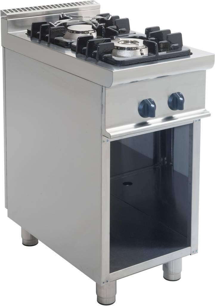 Kuchnia gazowa 2 palnikowa 12000W