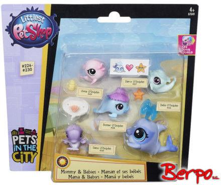 Littlest Pet Shop - Rodzina morskich zwierzaków B7049