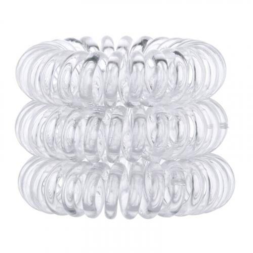 Invisibobble The Traceless Hair Ring gumka do włosów 3 szt dla kobiet Crystal Clear