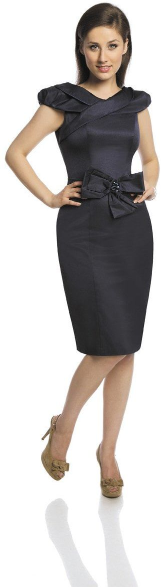 Sukienka FSU243 GRANATOWY