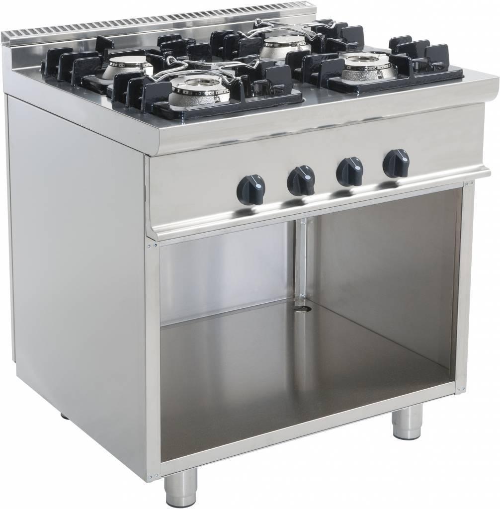 Kuchnia gazowa 4 palnikowa 24000W