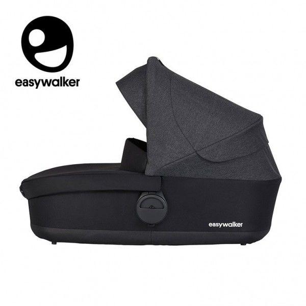 Easywalker Harvey Gondola do Wózka Night Black (zawiera Osłonkę Przeciwdeszczową)