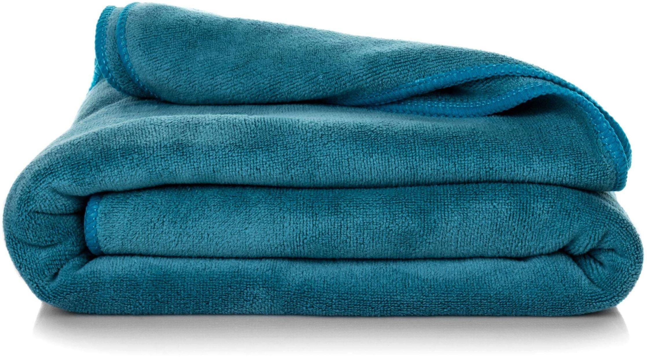 Ręcznik Kąpielowy Eurofirany Amy 08 380 g/m2 Turkusowy 30x30
