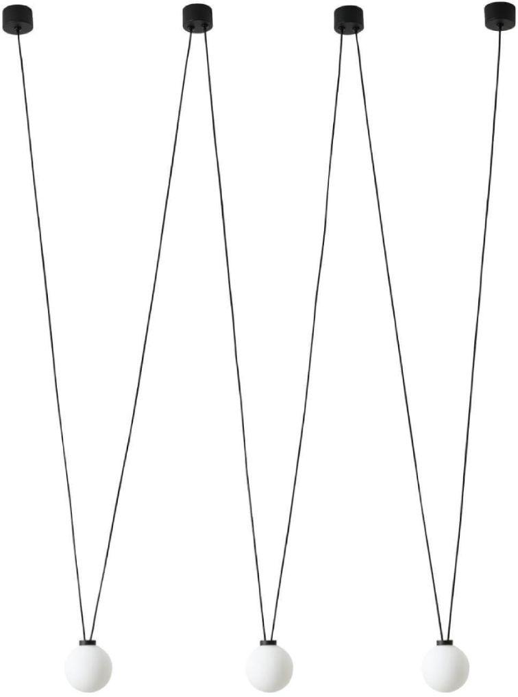 System szynowy Movo Track Orlicki Design nowoczesny system szynowy 1-fazowy w kolorze czarnym