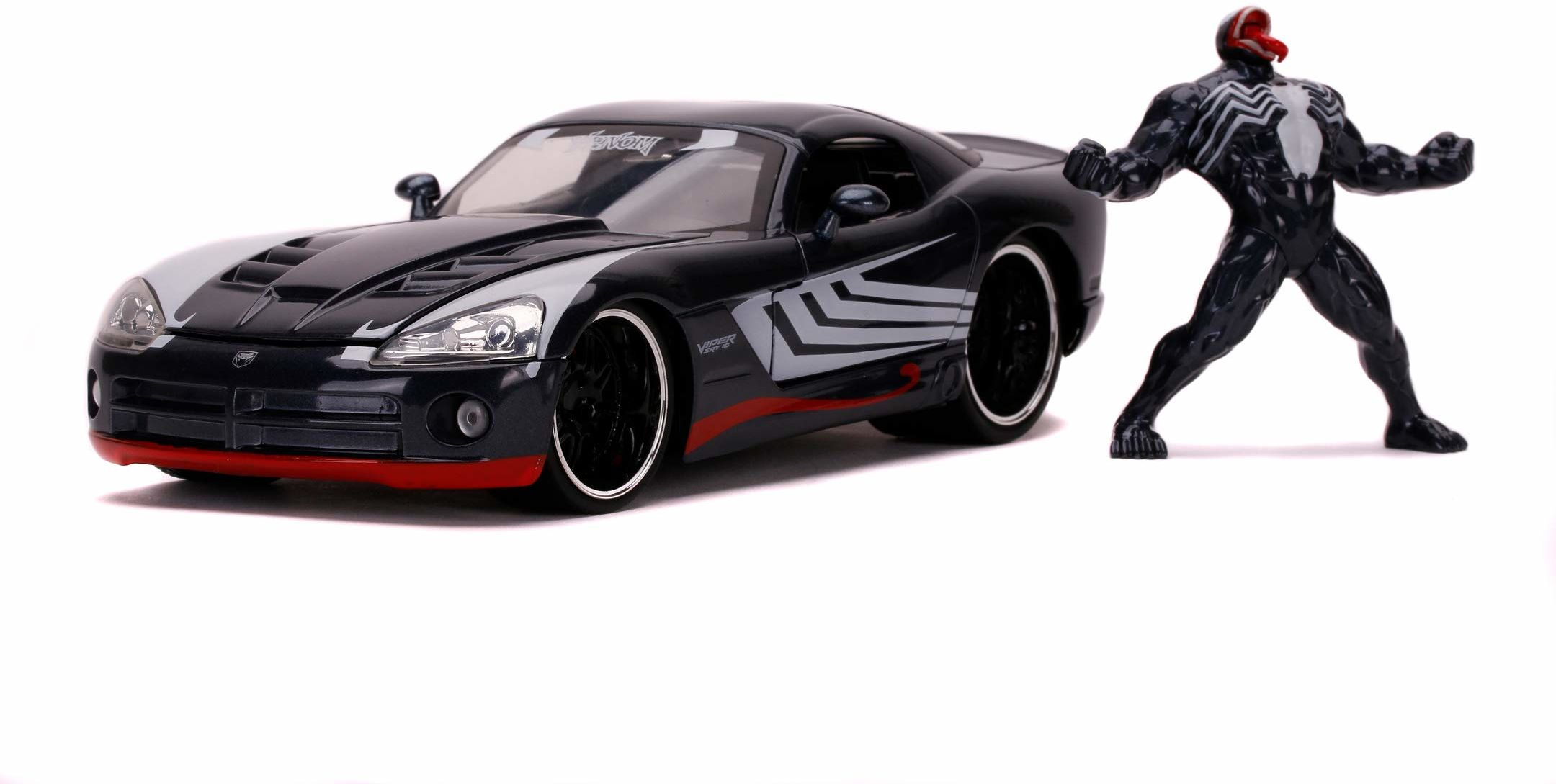 Hollywood Rides 253225015 Marvel Venom 2008 Dodge Viper 1:24