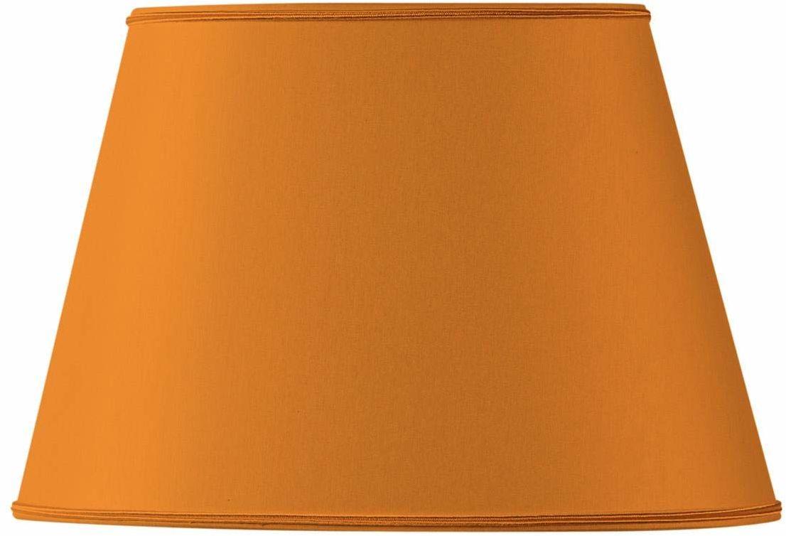 Klosz lampy owalny, Ø 20 x 13,5 x 8,5 x 13,5 cm, pomarańczowy