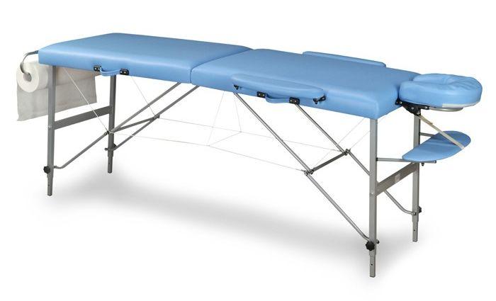 Stół składany do masażu DOPLO (aluminium)