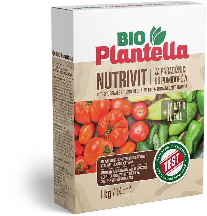 Nawóz naturalny do ogórków, cukinii 1kg. Nawóz organiczny Bio Plantella Nutrivit.