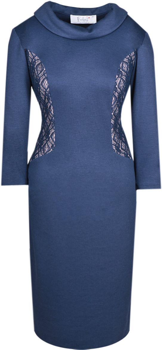 Sukienka FSU425 GRANATOWY