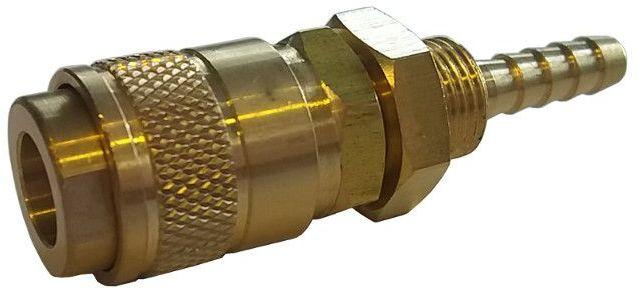 Szybkozłączka - gniazdo Typ 21 na wąż 6 mm (neutralna)