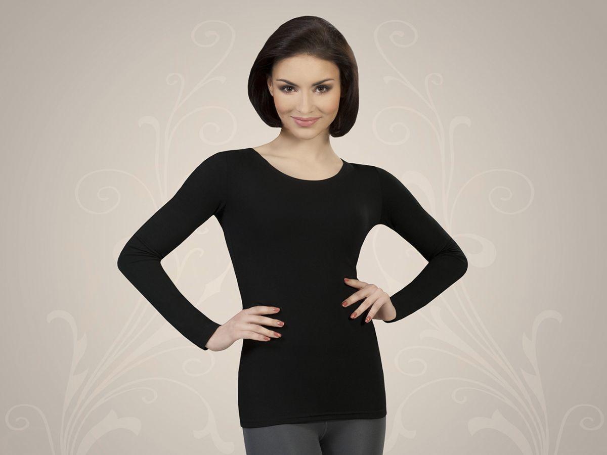 Adelina koszulka czarny