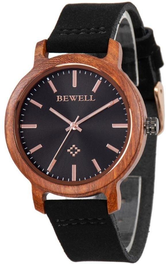 Drewniany Zegarek Bewell ZS-170AL + Drewniane Pudełko