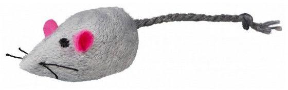 Trixie Myszka 5cm szara/biała 1szt [4085]