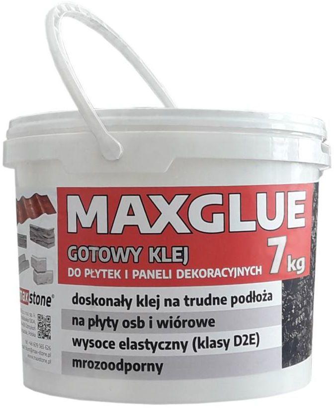 Gotowy klej do płytek i paneli dekoracyjnych MAXGLUE 7 kg