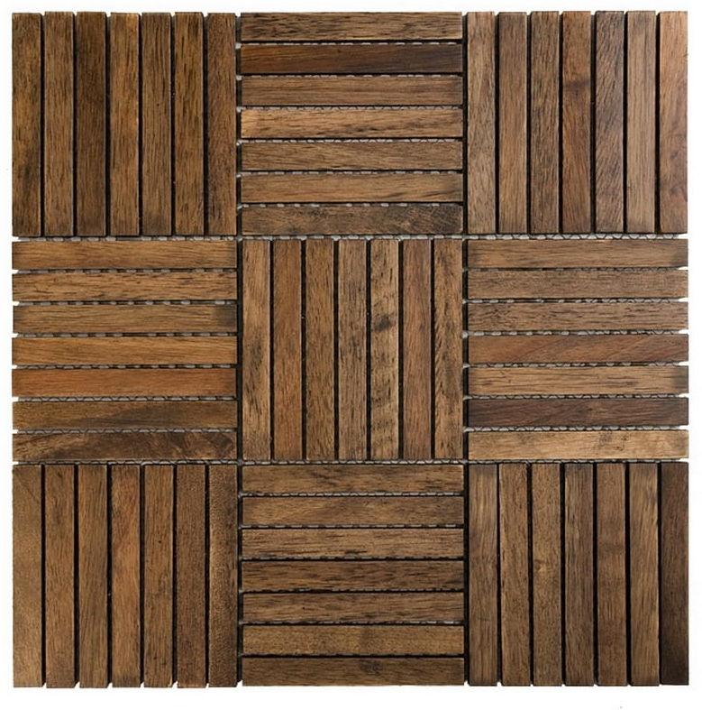 DUNIN Etn!k mozaika drewniana Chocolate Oak 110