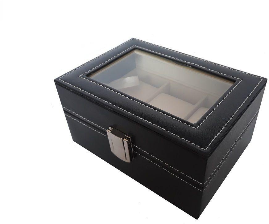 Pudełko Etui na Zegarki - Organizer na 3 sztuki