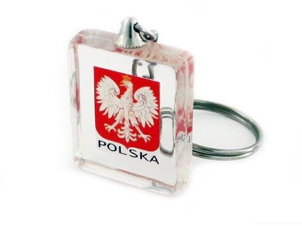 Brelok kostka Polska