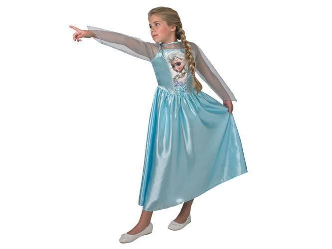 Kostium Frozen - Elsa - 9-10 lat