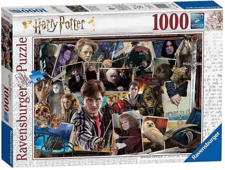 Puzzle 1000 Harry Potter - Voldemort - Ravensburger