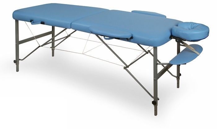 Stół składany do masażu VIVA (aluminium)