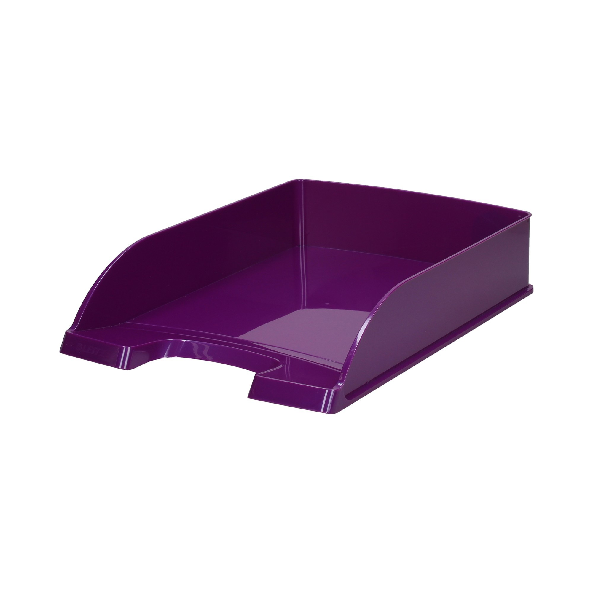Półka dokumenty A4 fioletowa Wow Leitz