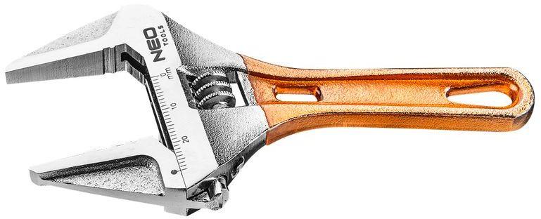 Klucz nastawny krótki 118mm, zakres 0-28mm 03-019