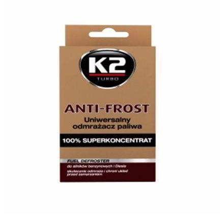 K2 Anti-frost 50ml - uniwersalny odmrażacz paliwa