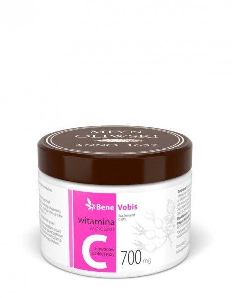 Bene Vobis - Witamina C w 100% z dzikiej róży - 250 g