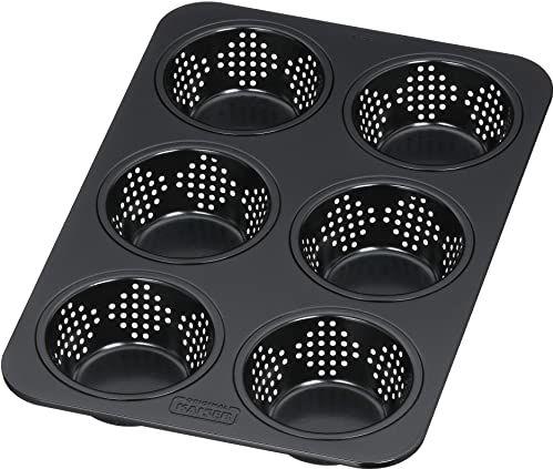 Kaiser Inspiration perforowana forma do pieczenia bułek, 28 x 19 cm, forma do pieczenia na 6 bułek, powłoka zapobiegająca przywieraniu, odporna na tanie
