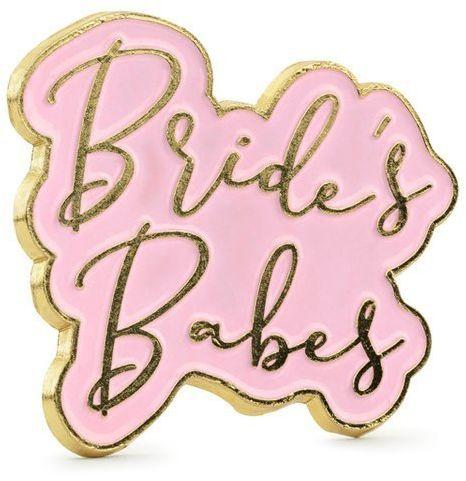 Przypinka Bride''s Babes 3,5 x 3 cm 1szt. PN4