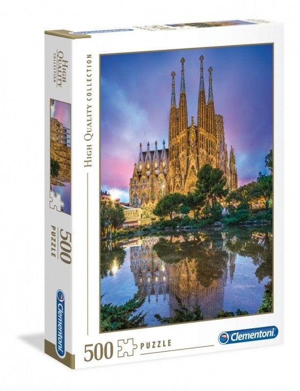 Puzzle Clementoni 500 - Sagrada Familia, Barcelona