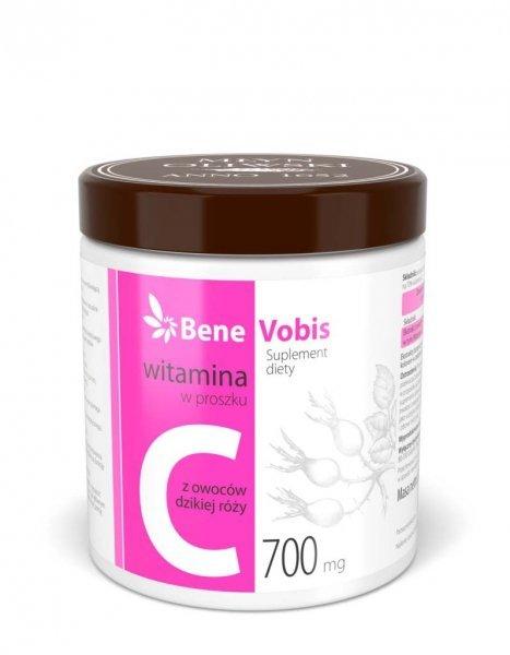 Bene Vobis - Witamina C w 100% z dzikiej róży - 500g
