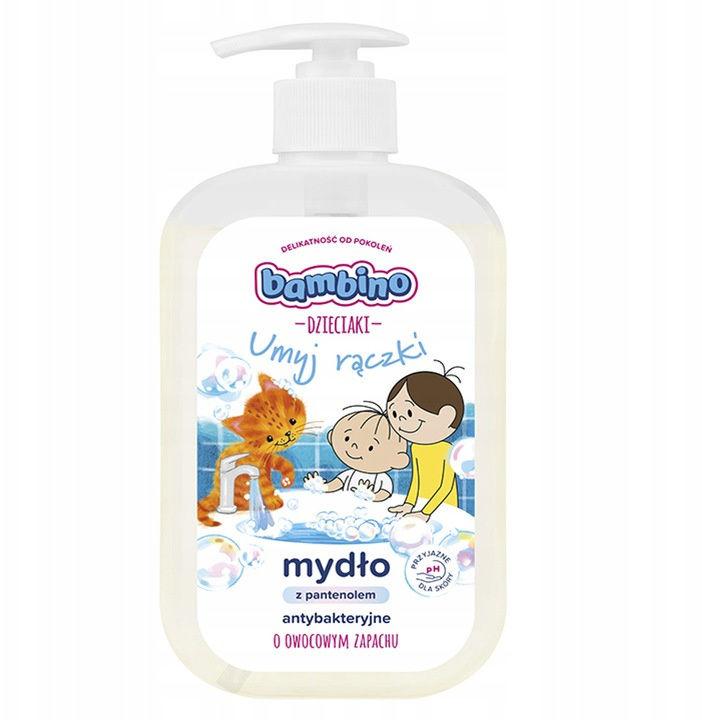 DZIECIAKI Mydło do rąk Umyj rączki Bambino 500 ML