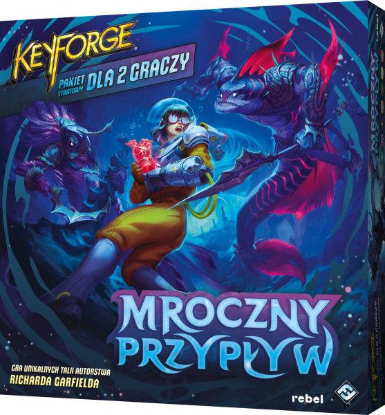 KeyForge: Mroczny Przypływ Pakiet startowy ZAKŁADKA DO KSIĄŻEK GRATIS DO KAŻDEGO ZAMÓWIENIA