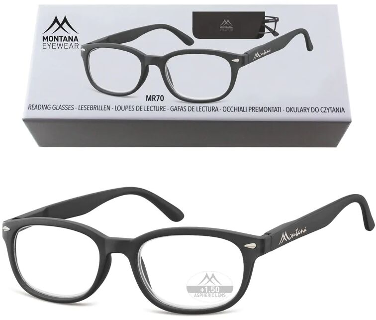 Okulary do Czytania asferyczne Montana BOX70 Moc: +3