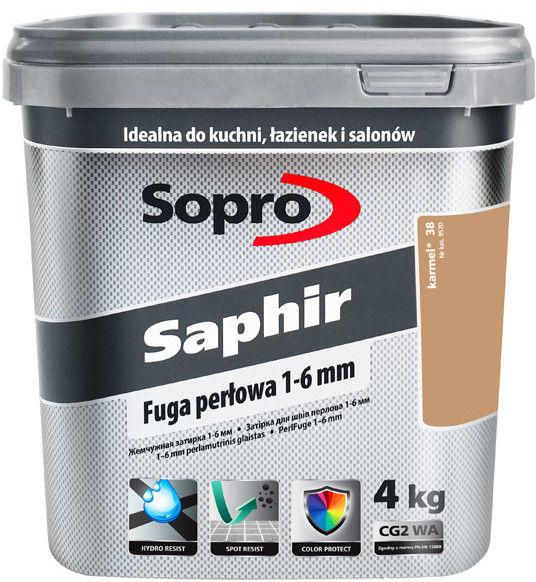 SOPRO SAPHIR- fuga perłowa, karmel, 4 kg